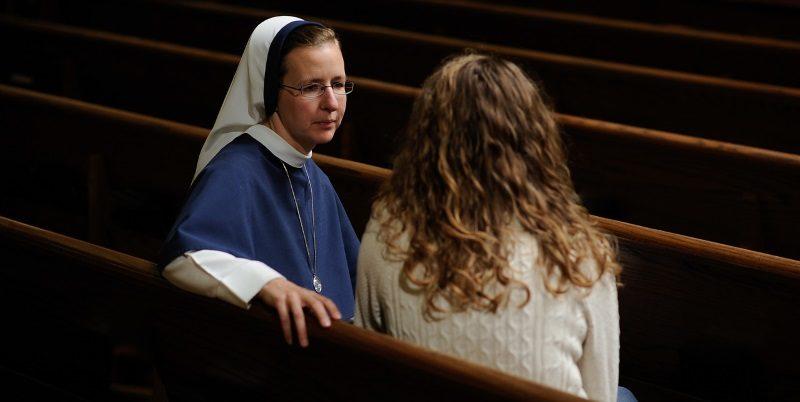 profissão de freira