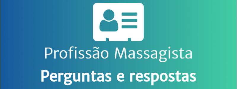 Profissão de massagista